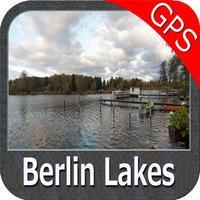 Berlin Lakes GPS fishing chart offline kml gpx