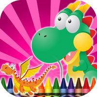 Coloring Book Dragons
