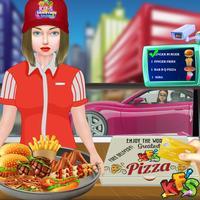 Kids Drive Thru Simulator – Shopping Game