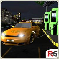 Electric Car Taxi Simulator: Day Night Driver Job