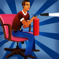 Street Fire Extinguisher Chair Competition : The City Crazy Race - Free Edition