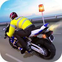 Real Police Bike Driving