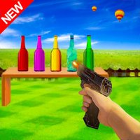 Bottle Shoot: Real Gun Shooter