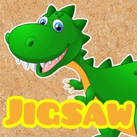 Dino Jigsaw Puzzles pre k -7 year old activities