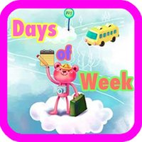 Learn Days of Week With Sound-For Preschool Kids And Babies Using Flashcards