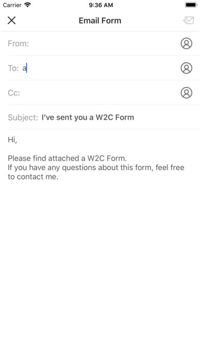 W2C Form App for iPhone - Free Download W2C Form for iPad