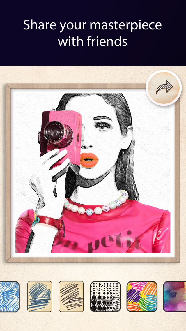 Pic Sketch – Pencil Draw Effects Maker App for iPhone - Free