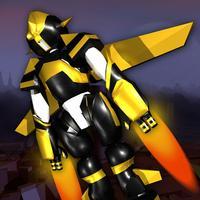 Crashy Flying Robot 3D