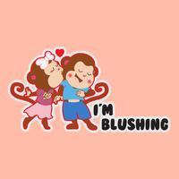Joey+Joy Cheeky Romance Stickers