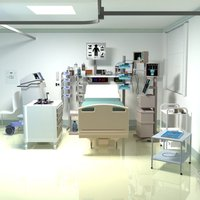 Escape from the ICU room.
