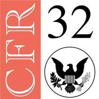 32 CFR - National Defense