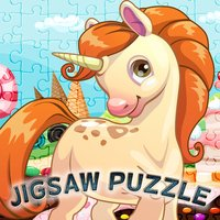 My Fairy Pony Unicorn Jigsaw Puzzle Coloring Book