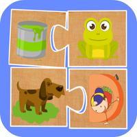 Puzzle Match & Flash cards
