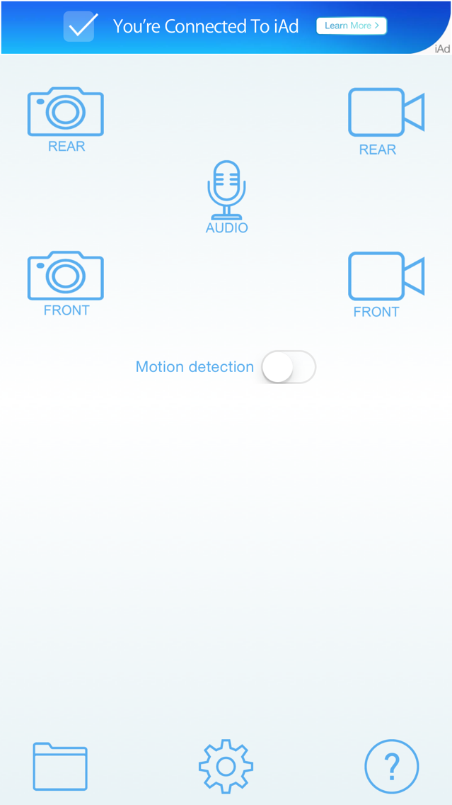 Black Eye - Motion Detector App for iPhone - Free Download