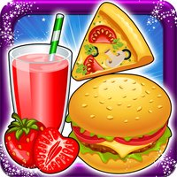 Pizza Burger & Drinks Maker -Cooking fun games