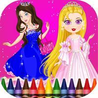 Princess Coloring-Book