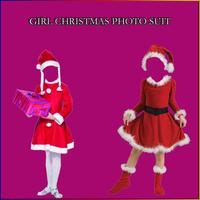 Girl Christmas Photo Suit