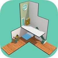 Cube Room - ミニチュアルームからの脱出 - Escape game