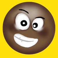 Black Emoji Stickers !!