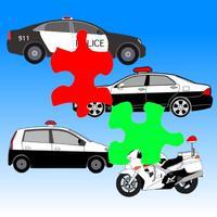 Police Car Jigsaw Puzzle