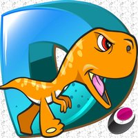 Crossy Dino-saur Island Dirt Road Dash