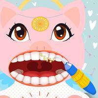 Pig Angel Babe Family Dentist