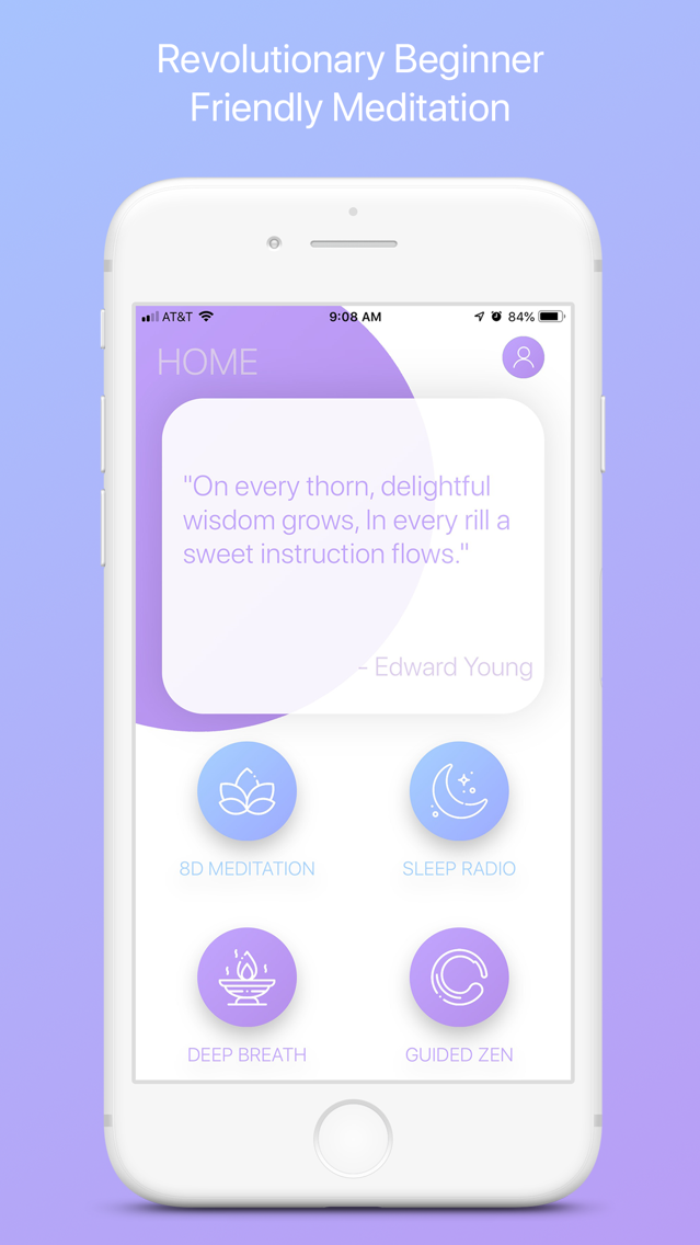Bluezen - Mindfulness and Zen App for iPhone - Free Download