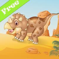 Amazing Dinosaur Memory Matching Game Kid Toddlers