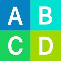 ABCD - 2048 words edition,swipe tile from A to Z letters
