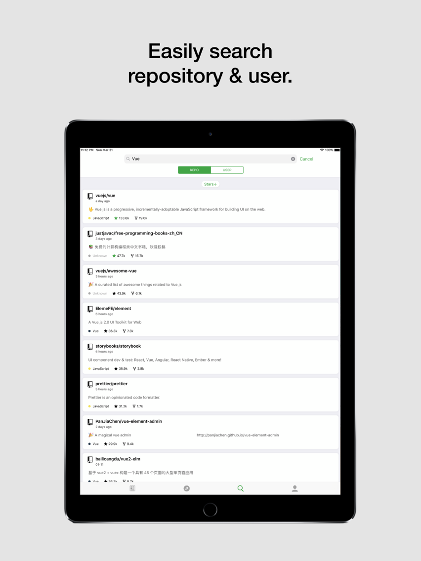 Coderx for GitHub App for iPhone - Free Download Coderx for
