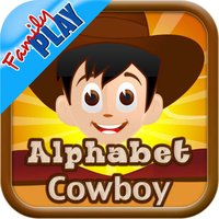Alphabet Cowboy: Flash Card Game for Toddlers