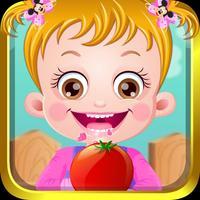 Baby Hazel : Gardening Time