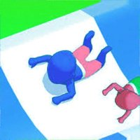 aqua park slide - run race 3D