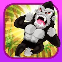 Climbing Ape - Angry Gorilla Jumping Rush FREE