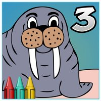 Coloring Book 3: Animals