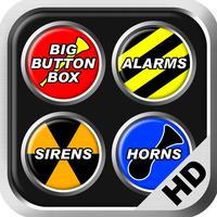 Big Button Box: Alarms, Sirens & Horns HD - sounds