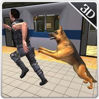 Police Subway Security Dog – City crime chase sim