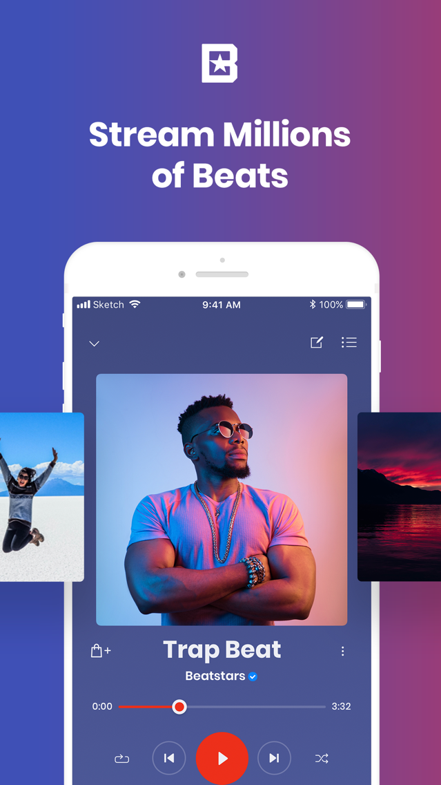 BeatStars - Instrumental Beats App for iPhone - Free