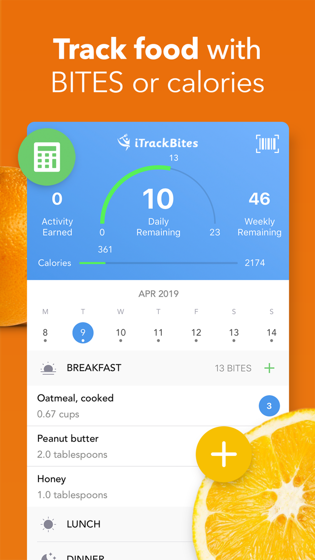 iTrackBites: Track your Diet App for iPhone - Free Download