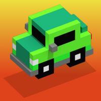 The Floor is Lava - Endless Pixel Car Challenge