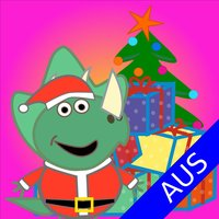 Terry Santa's Top Kids Learning Aussie Geography Quiz Game - Special Christmas Present Australian Delivery Service