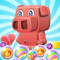 Pinky Pig Bubble Shooter