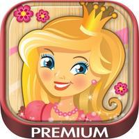 Paint princesses magic - Princess coloring pages- Premium