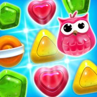 Sweet Candy Joy - jelly match puzzle game