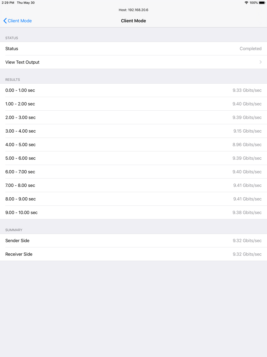 iPerf - Speed Test Tool App for iPhone - Free Download iPerf