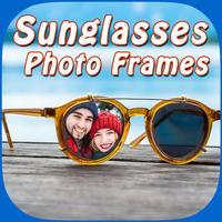 Stylish Sunglass Photo Montage