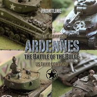 US Tanks 1944 Ardennes