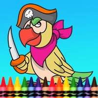 Pirate Coloring Book for Kid Games