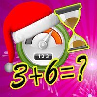 Santa Quick Math time for kids games