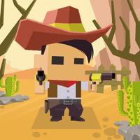 Pixel Cowboy Hunter Adventure